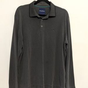 Tommy Bahama Long Sleeve Polo Embroidered